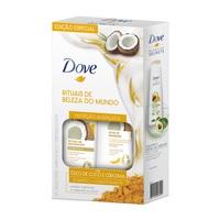 Kit Dove Ritual de Reparação - Shampoo, 400mL + Condicionador, 200mL
