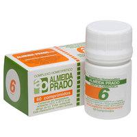 Complexo Homeopático Almeida Prado Nº 6 Frasco com 60 comprimidos