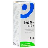 Colírio Hyabak 10mL