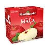 Chá Madrugada maçã, 6 caixas de 10 sachês cada