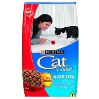 Ração Purina Cat Chow Adultos Carne, 1Kg
