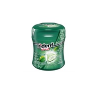 Chiclete Trident Xfresh crystal mint, 56g, 6 unidades