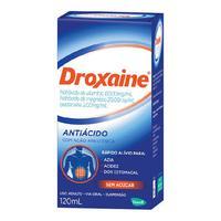 Droxaíne 60mg/mL + 20mg/mL + 2mg/mL, caixa com 1 frasco com 120mL de suspensão de uso oral