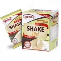 Lipomax Shake Diet baunilha, caixa com 7 sachês de 40g