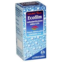 5mg/mL, caixa com 1 frasco gotejador com 5mL de solução de uso oftalmológico