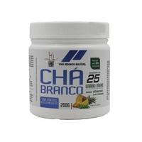 Chá Branco Health Labs abacaxi com hortelã, pote com 200g