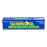 Salonpas Gel 0,15g/g + 0,07g/g, bisnaga com 20g de gel de uso dermatológico