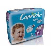 Fralda Capricho Bummis P, pacote com 80 unidades