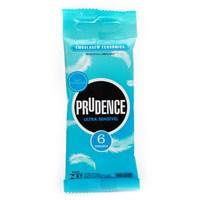 Preservativo Prudence ultrassensível com 6 unidades