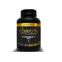 Vitamina D Celebrity Imunno 430mg, frasco com 30 cápsulas