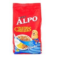Ração para Cães Alpo Receitas Caseiras Filhotes Sabor Carne, Cereais & Leite com 1kg