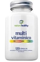 Multivitamínico Nature Healthy frasco, 1 unidade com 120 cápsulas