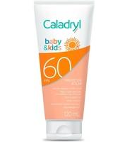 Protetor Solar Infantil Caladryl Baby & Kids loção, FPS 60, 120mL