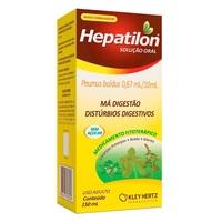 Hepatilon 0,67mL/10mL, frasco com 150mL de solução de uso oral