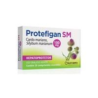 Protefigan SM 100mg, caixa com 30 comprimidos