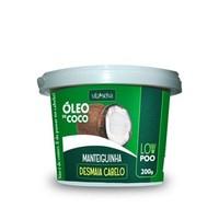 Manteiguinha Desmaia Cabelo Vita Seiva Óleo de Coco 200g