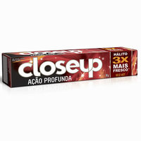 Creme Dental Close Up Ação Profunda