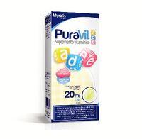 Puravit ADE Gotas, Tutti-Fruitt, 20mL