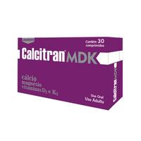 Calcitran MDK caixa com 30 comprimidos