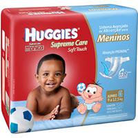 Fralda Huggies Turma da Mônica Supreme Care Meninos G, 20 unidades