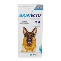 Antipulgas para Cães Bravecto 20Kg até 40Kg, 1000mg, caixa com 1 comprimido