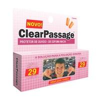 Protetor de Ouvido ClearPassage Espuma Macia