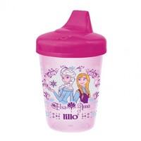 Copo Antivazamento Lillo Disney Elsa e Anna, sem alça, capacidade de 207mL