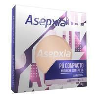Pó Compacto Asepxia FPS 20, bege médio