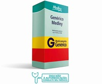 Esomeprazol Magnésico Medley 20mg, caixa com 14 comprimidos revestidos