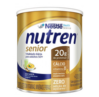 Suplemento Alimentar Nutren Senior sem sabor, lata, 1 unidade com 740g
