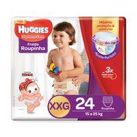 Fralda Roupinha Huggies Supreme Care XXG, 24 unidades