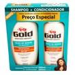 shampoo 300 mL + condicionador 200mL (preço especial)