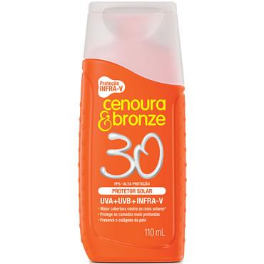Protetor Solar Cenoura & Bronze